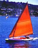 Free Sail Boat Ply-Flier Plan