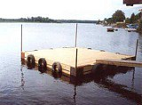 Free Floating Dock Plan