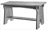 Free Piano Bench Plan