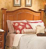 Free Arch-Top Headboard Plan