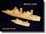 Toy battle ships plans
