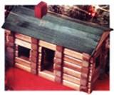 Toy Log Cabin plans