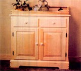 Free Antique Style Dry Sink Plan