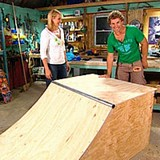DIY Skateboard Ramp plans