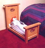 Free Doll Bed Plan