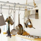 Hanging pot rack plans