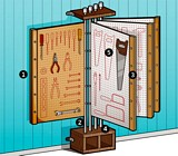 Free DIY Tool Rack Plan