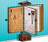 Free DIY Tool Rack Plan