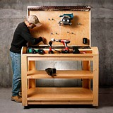 Free Charging Station for Cordless Tools Plan