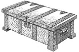 Free Miniature Metal-Bound Chests Plan