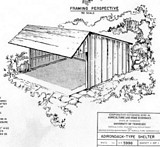 Free Adirondack Shelter Plan