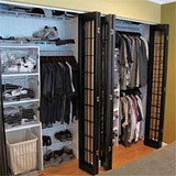 Folding closet doors plans