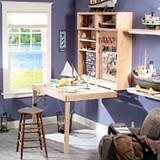 Foldaway workbench plans