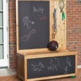 Toy Box with Chalkboard plans
