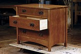 Arts & Crafts Dresser plans