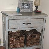 Build a Farmhouse Bedside Table plans