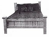 Beautiful Colonial bed plans