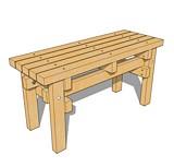 Basic Bench #1 plans