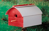 Barn Style Bird House plans