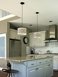 Custom Kitchen Drum Pendants plans