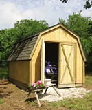 Drive Thru Backyard Shed plans