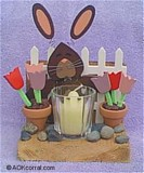 Spring Bunny Candle Holder plans