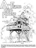 A-Frame Treehouse plans