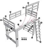 Loft Style Bunk Bed plans