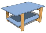 Simple coffee table. plans