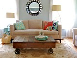 Factory Cart Coffee Table plans