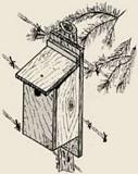 Bluebird Bird House plans