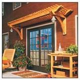 Pergola Above Door plans