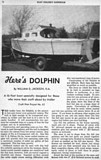 Dolphin Cabin Cruiser plans