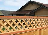 Attractive Lattice Fence plans