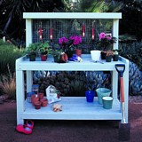Backyard potting center plans