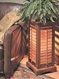 Louvered Lamp plans