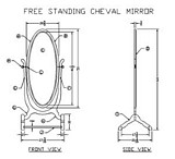 Cheval Mirror plans