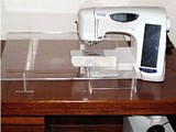 Free Acrylic Accessory Sewing Table Plan
