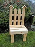 Garden Chair Plant Stand plans