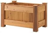 Free Deck Planter Plan