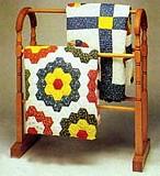 Antique Quilt Display Rack plans