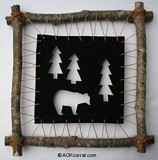 Rustic Wall Hanging plans