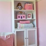 Armoire with Open Shelves and Magnetic Doors plans
