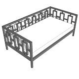 Rectangles Day Bed plans