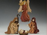 12 Piece Intarsia Nativity Set plans