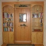 Free Elegant Built in Bookcase Plan