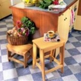 Handy Kitchen Stools plans