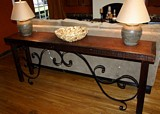 Old World Console Table plans