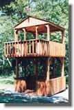Two Story Fort Style Play Set plans