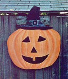Painted Wood Pumpkin plans
